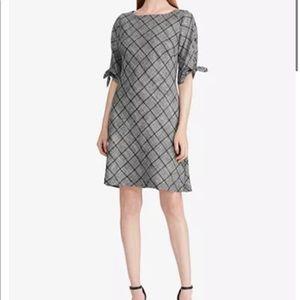 American living plaid sheath dress